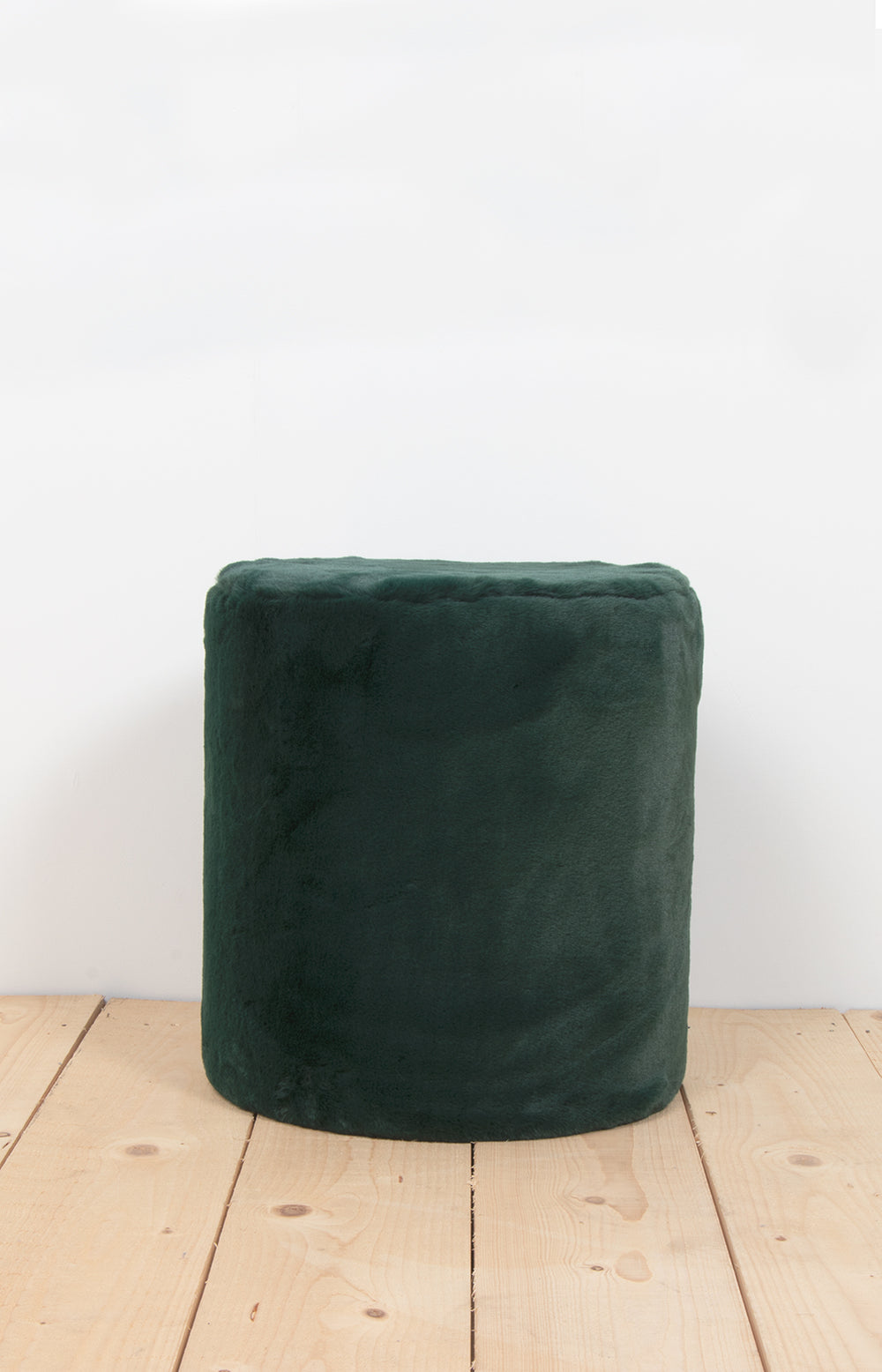 Pouffe medium jungle green