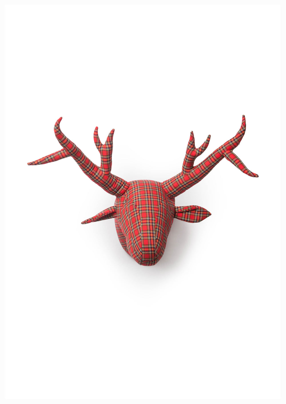 Abstract deer tartan William