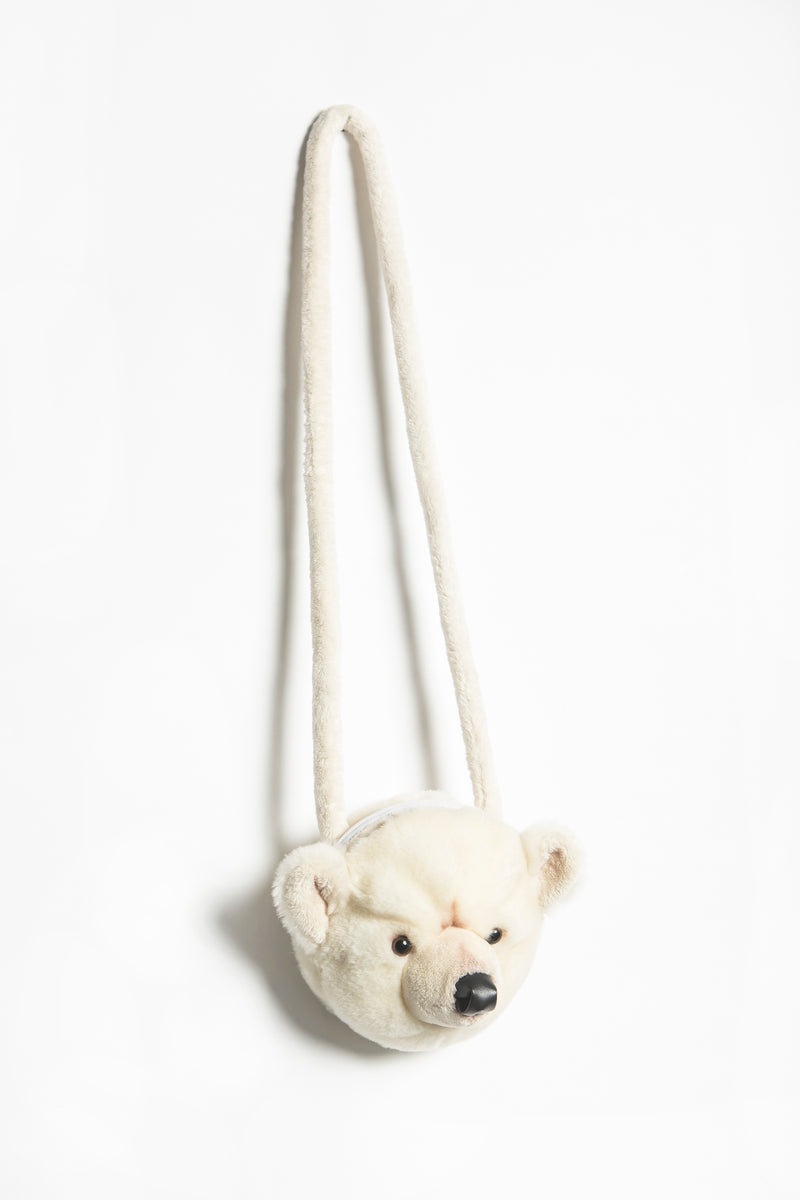 Purse polar bear
