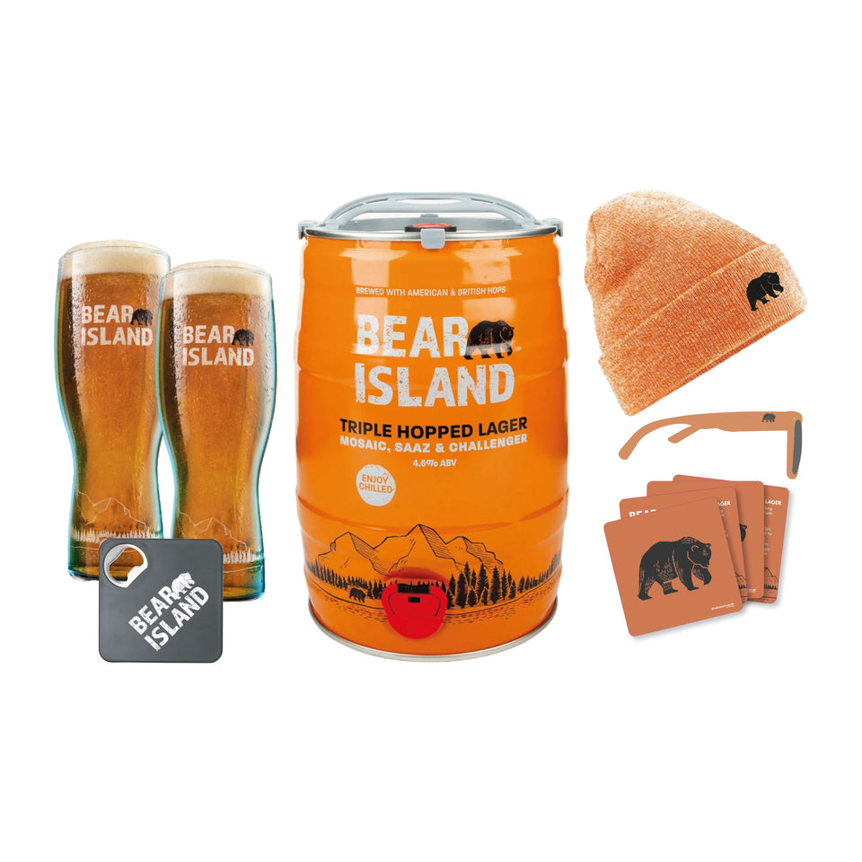 Bear Island Triple Hopped Lager Home Bundle