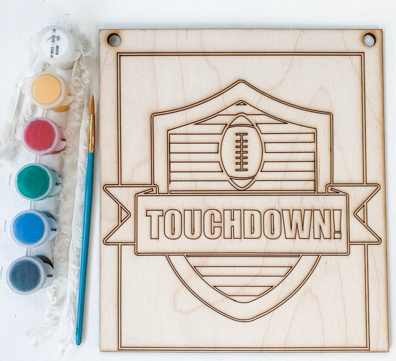 Touchdown Football, DIY Kit