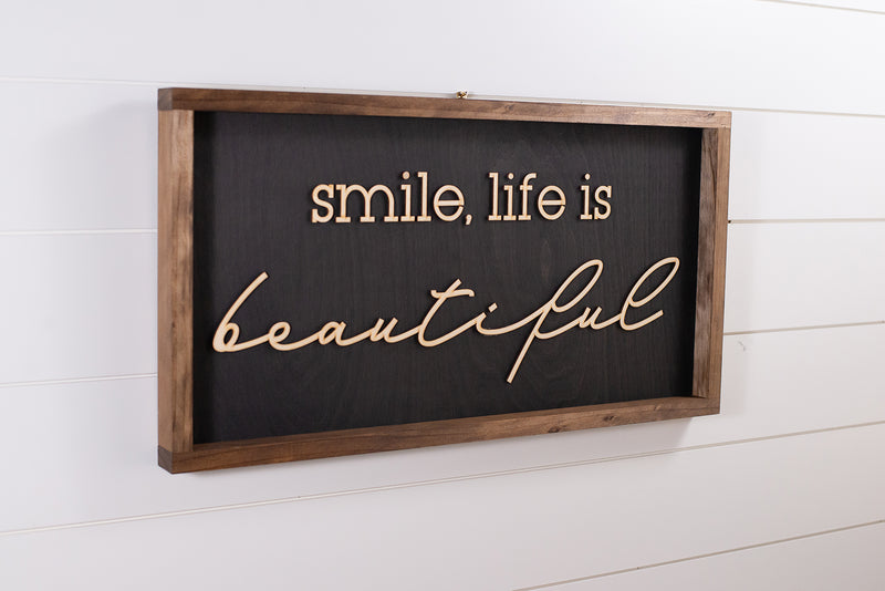 Smile, Life is Beautiful