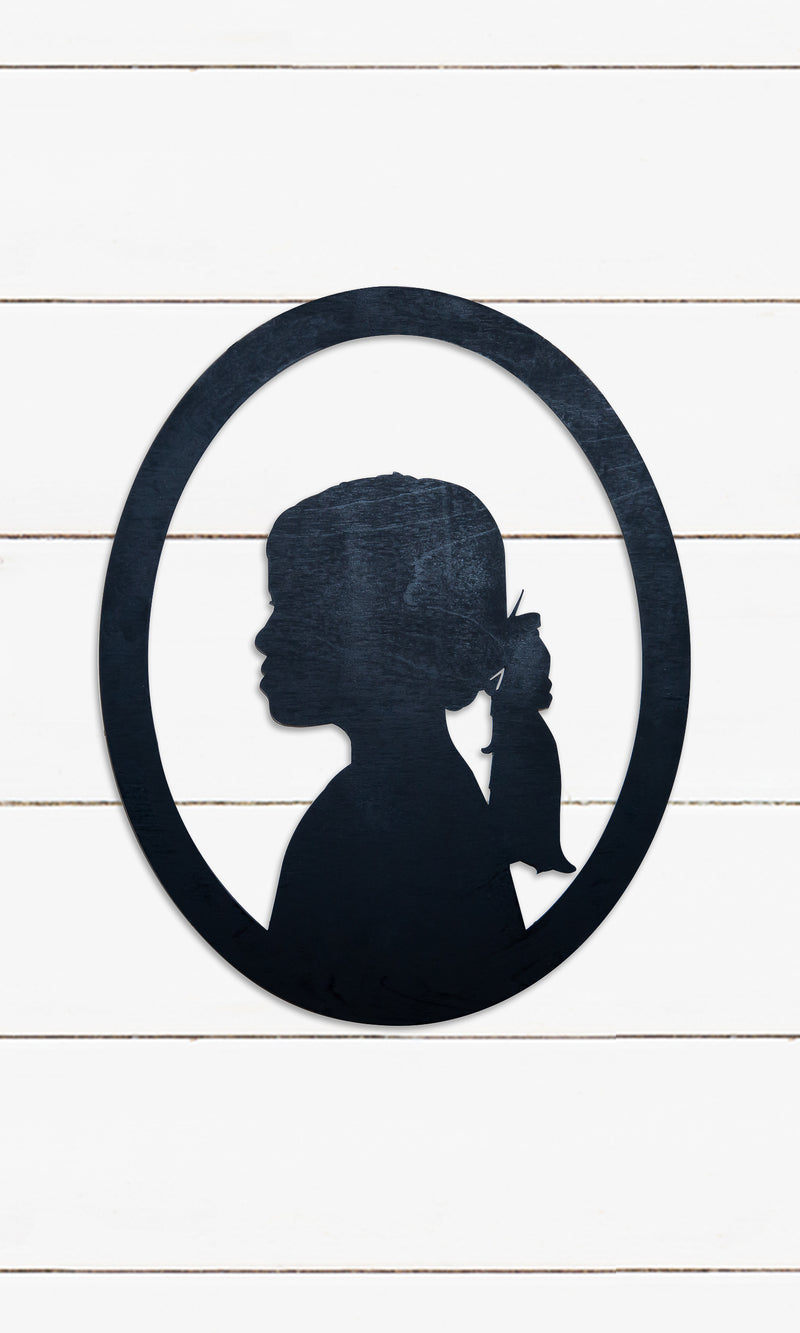 Silhouette - Customized Laser Cut Wood Sign