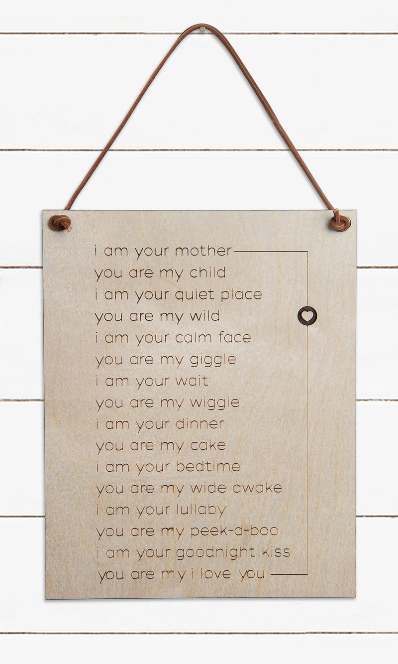 I Am Your Mother Poem