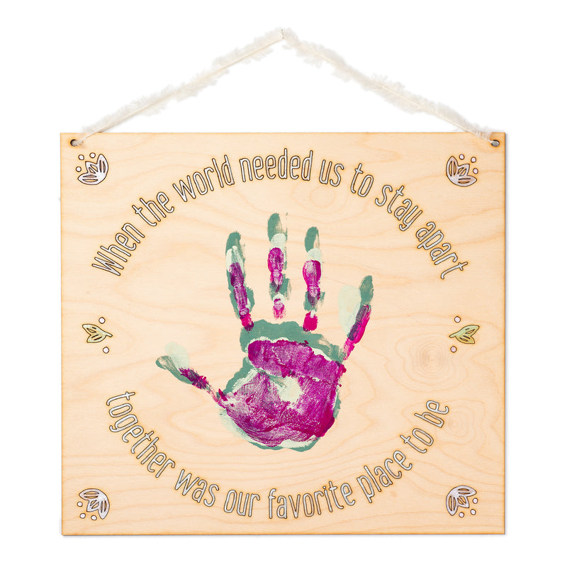 Handprint, When the World Needed Us, DIY Kit