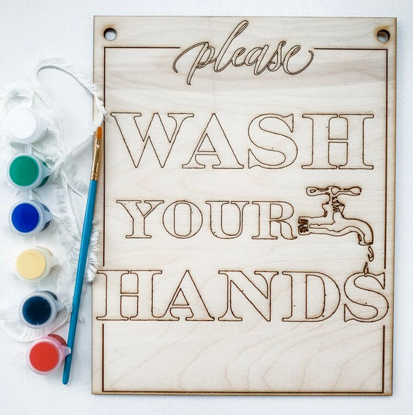 Please Wash Your Hands, DIY Kit