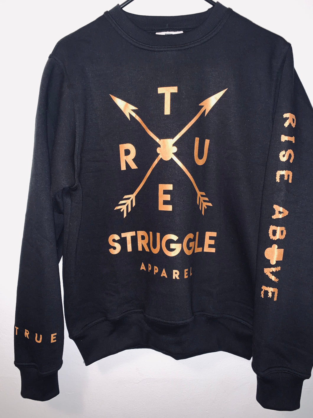 Black & Gold Sweatshirt