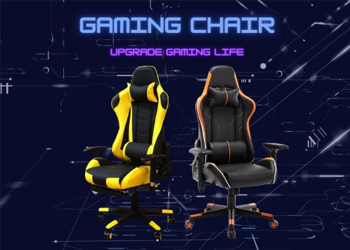 Ergonomic Affordable Gaming Chair with Footrest