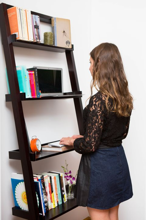 ladder standing desk