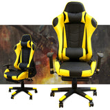 Load image into Gallery viewer, Ergonomic Gaming Chair with Footrest Headrest Lumbar Support Comfortable Reclining Swivel Chair