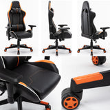 Load image into Gallery viewer, Ergonomic Gaming Chair Office Chair High Back Computer Chair Leather Desk Chair