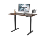 "Load image into Gallery viewer, Electric Height Adjustable Standing Desk with Memory Controller Black Frame / Maple Top 48"" x 24"""