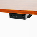 Load image into Gallery viewer, Electric Standing Desk Whole Piece Desktop Black Frame / Maple wood color Top 48 x 24 Inches