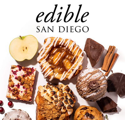 SPLIT Bakehouse featured on Edible San Diego