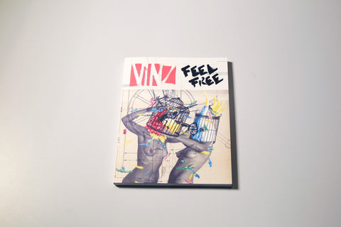 WOOSTER ON PAPER #3: VINZ FEEL FREE