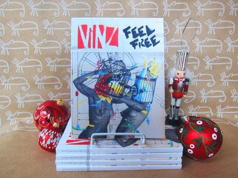 Vinz Feel Free Book -- 40% off
