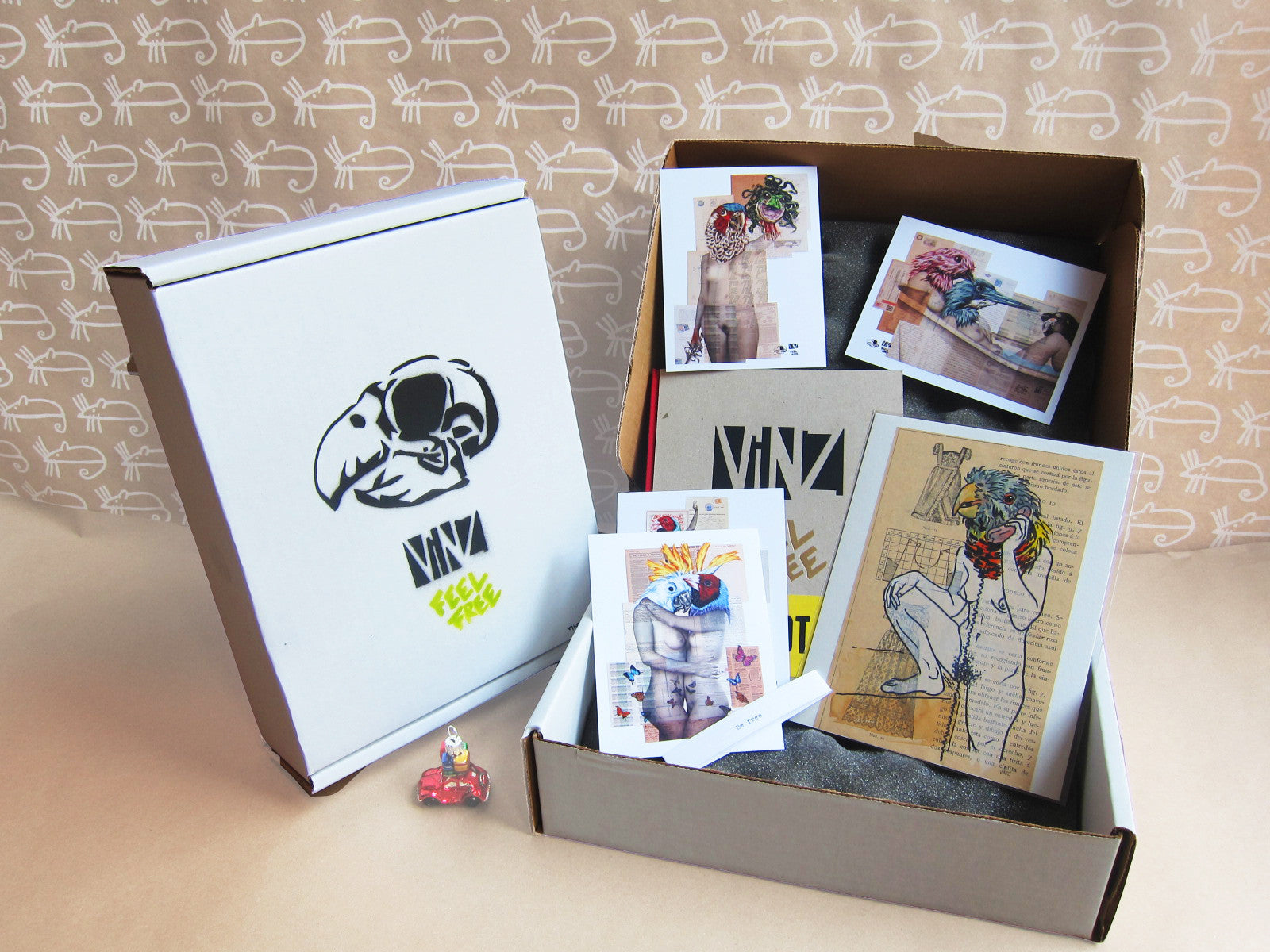 Limited Edition Vinz Feel Free Box Set (5 boxes left)