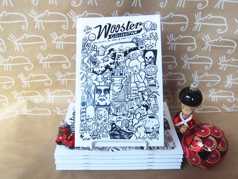 INTERNATIONAL: Wooster Collective 10th Anniversary Zine -- 20% off