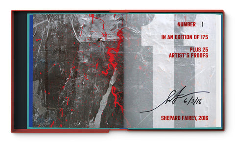 Shepard Fairey Signed Copy of ELEVEN SPRING: A Celebration of Street Art, Collector's Edition