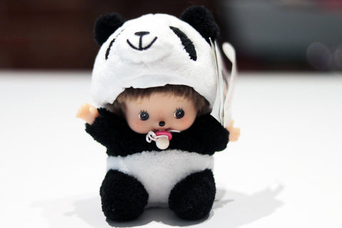 Baby with Panda suit