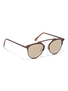 Brown Brow Bar Sunglasses