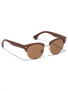 Wooden Framed Gradient Sunglasses