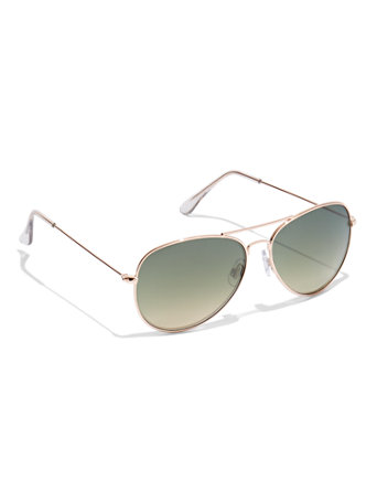 Aviator Green Fade Sunlasses