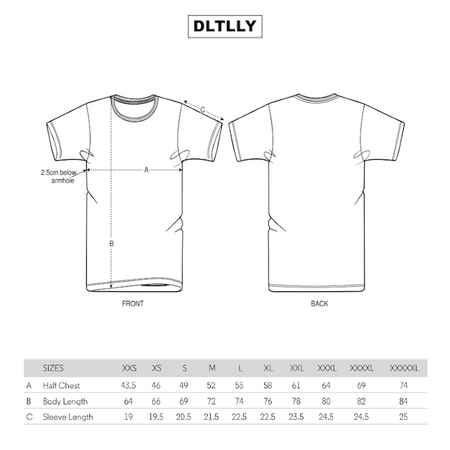 DLTLLY | SHIRT | WHITE & RED