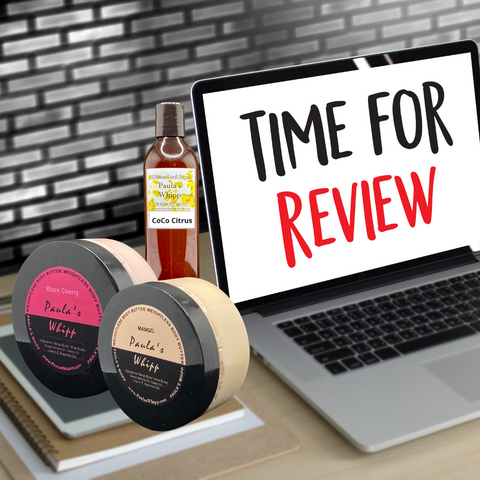 Customer review for Paula's Whipp Sea Moss Products for Hair and Skin