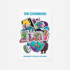 OK COSMOS! Stickers Collection
