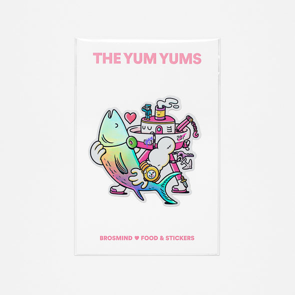 THE YUM YUMS Tuna Love Sticker
