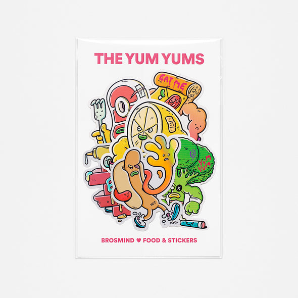 THE YUM YUMS Stickers Collection
