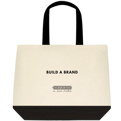 Tote Bag -(Two-Tone Deluxe Classic Cotton) Build A Brand