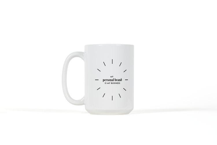 Wraparound Mug - (White) My Personal Brand is My Business