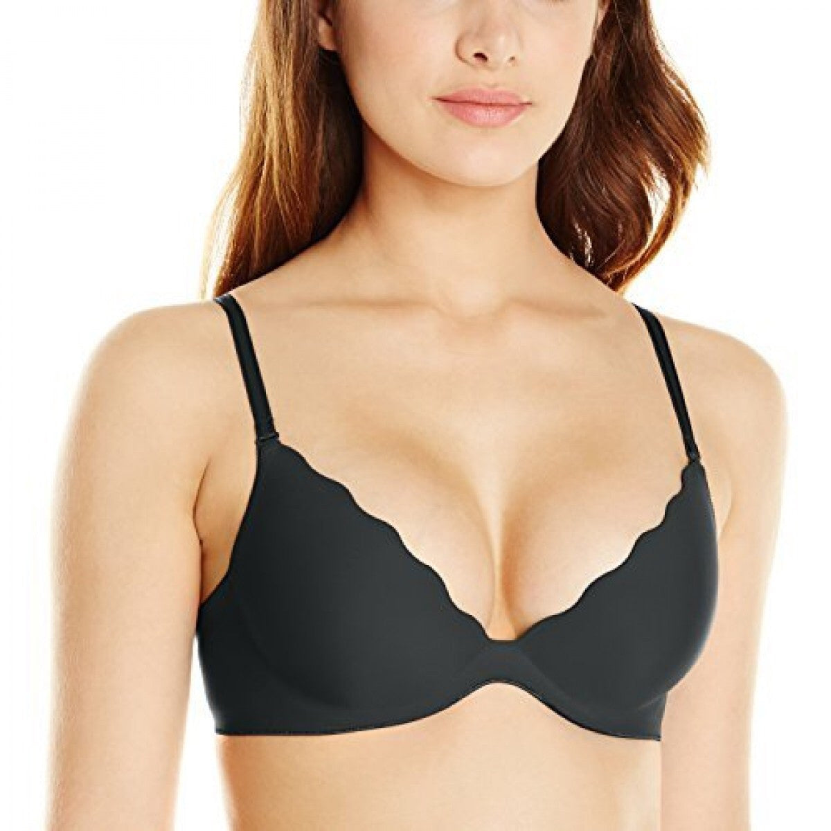 b.tempt'd Black Padded Push Up Bra
