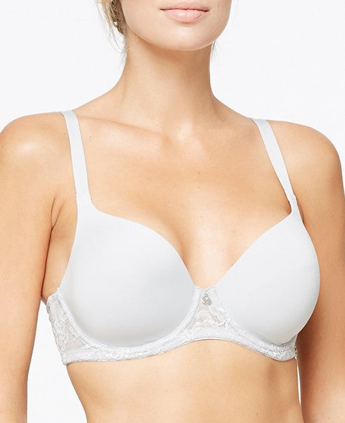 Montelle 9020 Pure Plus Full Coverage Bra in Feather Grey