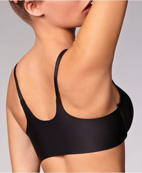 MONTELLE 9328 ULTIMATE BACK SMOOTHING BRA IN BLACK