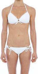 BIKINI TOP SEDUCTION BRA IN WHITE