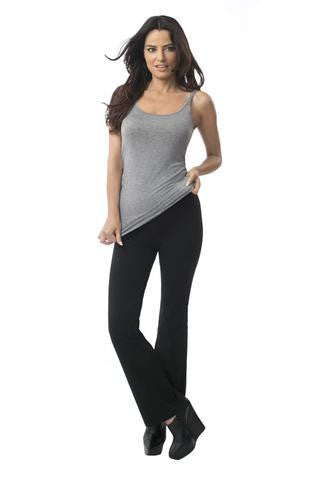 Svelte Wide Leg Black Leggings