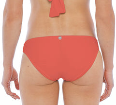 BIKINI BOTTOM MID RISE / REGULAR IN CORAL