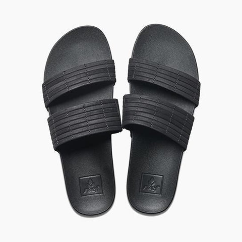 REEF CUSHION BOUNCE SLIDE BLACK