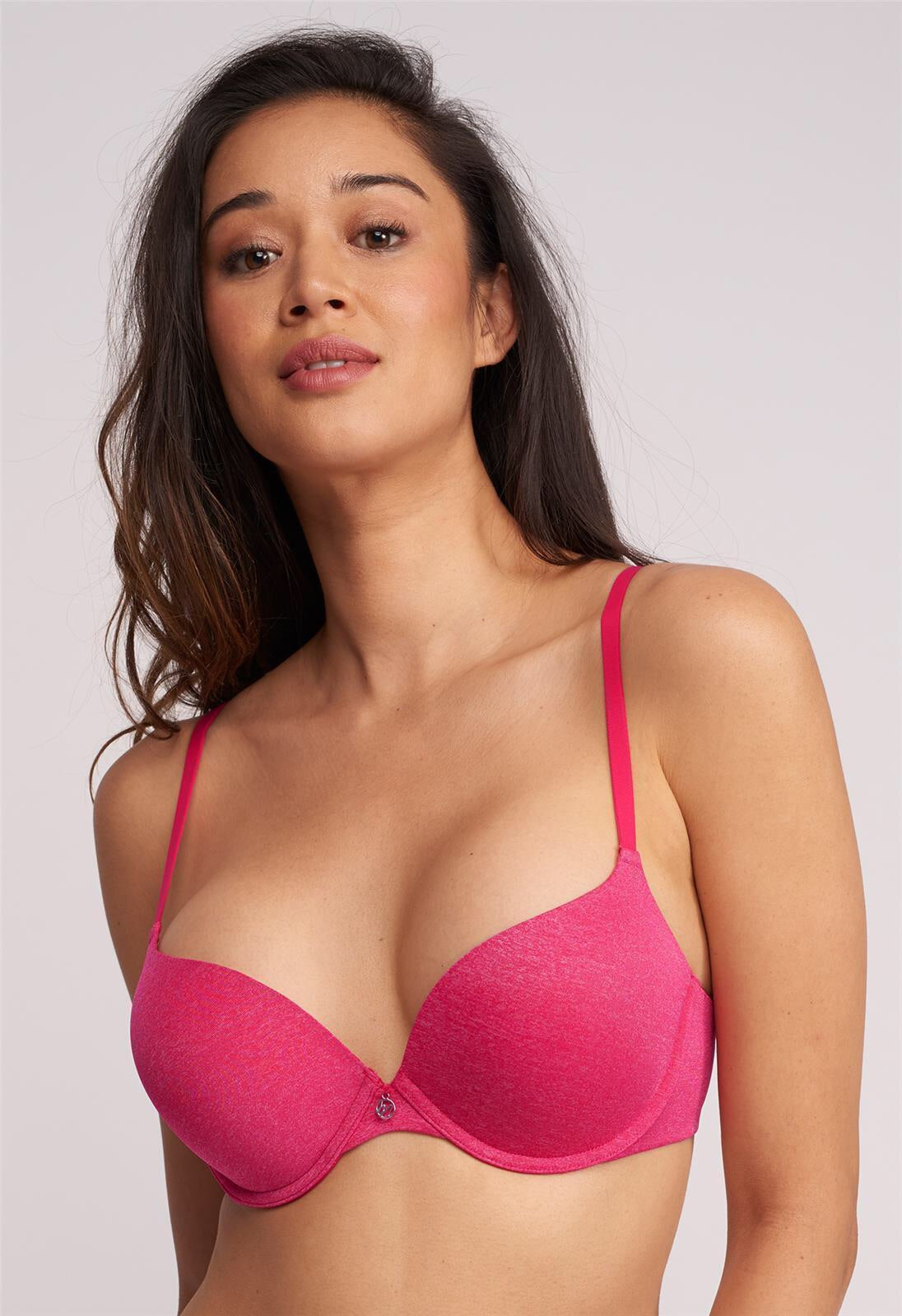 MONTELLE 9316 ALLURE LIGHT PUSH-UP BRA IN DRAGONFRUIT MIX
