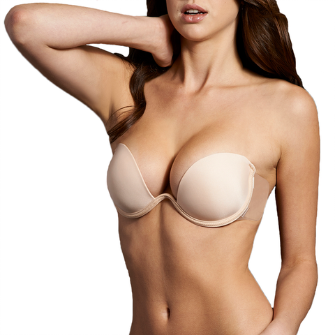 Bra Accessories- Push Up Combo Bra Available in Nude or Black