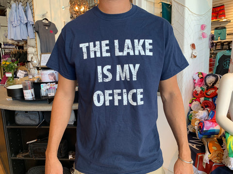 The Lake is my Office T-Shirt