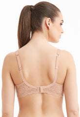 MONTELLE 9320 PURE PLUS FULL COVERAGE T-SHIRT BRA IN NUDE