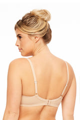 MONTELLE 9327 WIRE FREE PLUS T-SHIRT BRA IN NUDE