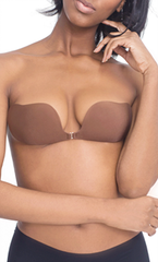 Bra Accessories- Natural Adhesive Clip Bra in Nude or Black