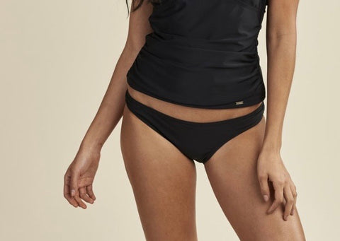 BIKINI BLACK ESSENTIALS REGULAR BOTTOM