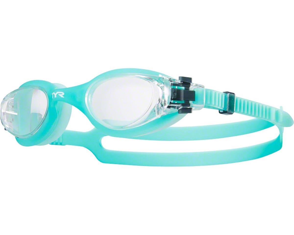 TYR VESI WOMEN'S GOGGLES IN CLEAR/MINT
