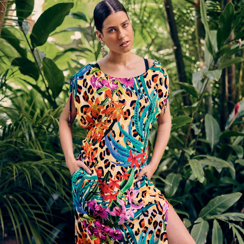 ANITA LUCCA - Tropical Cover UP